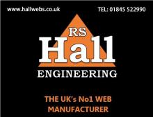 RS HALL ENGINEERING, HALL WEBS